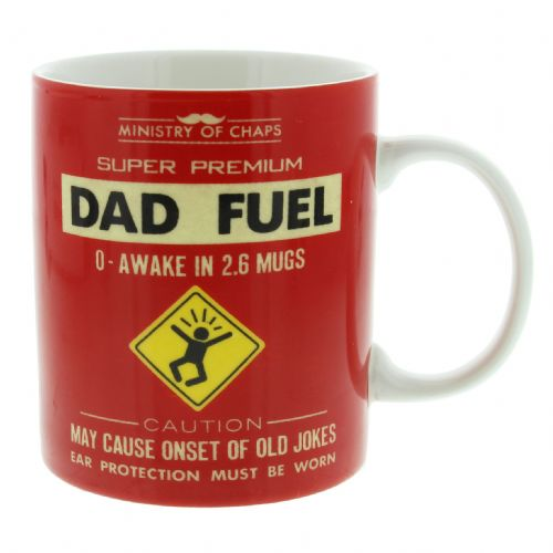 Ministry Of Chaps Funny Mug Gift - 'Dad Fuel' Gift Mug for Dad's Birthday and Christmas